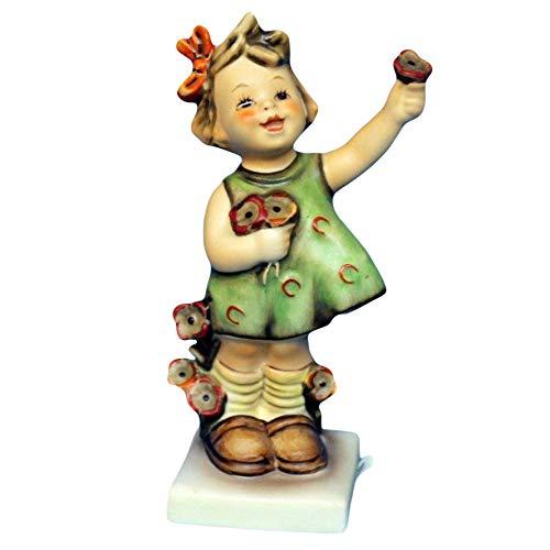 "Hummel Figurine, 72 Spring Cheer (Girl Flower), 5"" H"