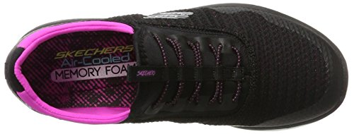 Black 0 2 Synergy Pink Mirror Nero Skechers Image Donna Infilare Sneaker qRzwU5Eng