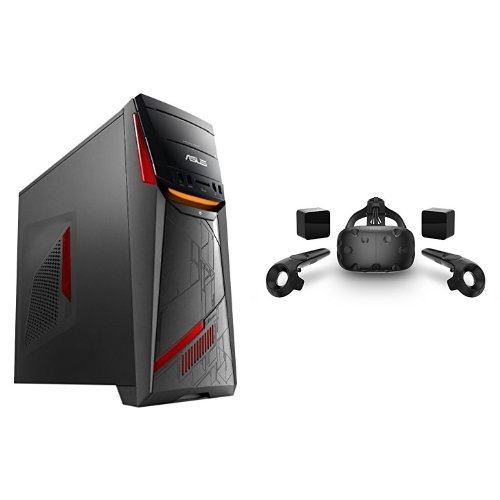 ASUS G11CD-DB72-GTX1080 Gaming Desktop & HTC VIVE - Virtual Reality System Bundle