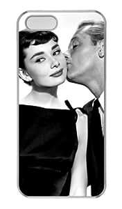 Audrey Hepburn iPhone 5 5s Case, Design Audrey Hepburn Custom Case Covers For Apple iPhone 5 5s by vipcustomonline