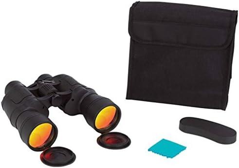 [해외]Magnacraft 10x50 BinocularsRuby Red Coated Lenses for Glare Reduction / Magnacraft 10x50 BinocularsRuby Red Coated Lenses for Glare Reduction