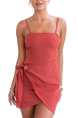 Cami Vosujotis Prendisole Red Estate Asymmetic Donne Bodycon Elegante Vestito gP6qXg