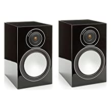 Monitor Audio SILVER 2 Bookshelf Speakers - Black Gloss (Pair)