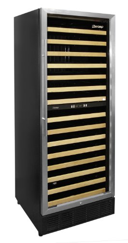 Vinotemp 160-Bottle Multi Zone Wine Cooler with Front Exhaust, ()