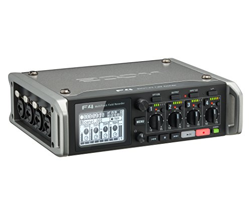 - Zoom F4 Multitrack Field Recorder