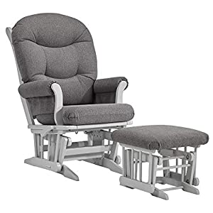 Dutailier Sleigh 0366 Glider Multiposition-Lock Recline with Ottoman Included