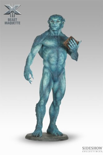 (MARVEL Polystone Collectibles: X-Men 3: Beast (Kelsey Grammer) Maquette by Sideshow)