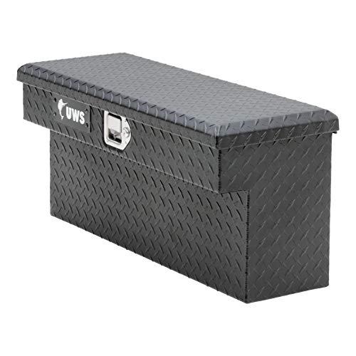 UWS EC10993 33-Inch Matte Black Aluminum UTV Side Tool Box for Select Polaris Ranger