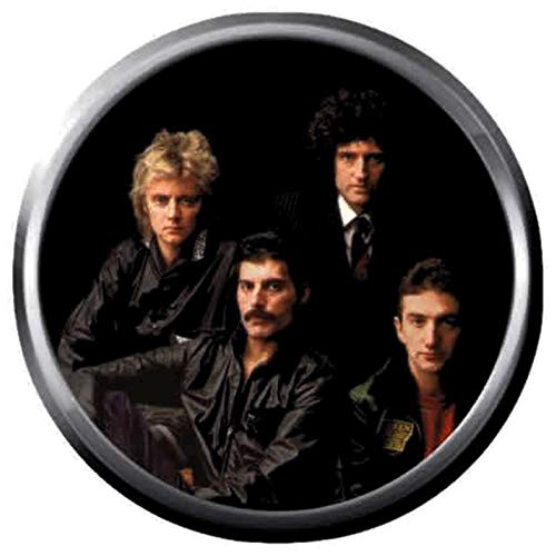 Naughty Nanny Queen Freddie Mercury and Queen Band Members Rock and Roll Hall of Fame Musicians Legends 18MM - 20MM Fashion Snap Jewelry Snap Charm