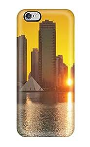Pauline F. Martinez's Shop MarvinDGarcia Scratch-free Phone Case For Iphone 6 Plus- Retail Packaging - City 5732952K66887497