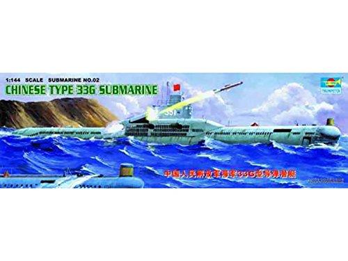 (Trumpeter 1/144 05902 Chinese Type 33G Submarine)