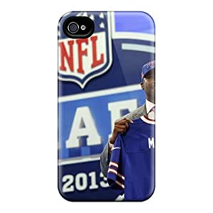 New Shockproof Protection Case Cover For Iphone 4/4s/ Ej Manuel Draft Case Cover