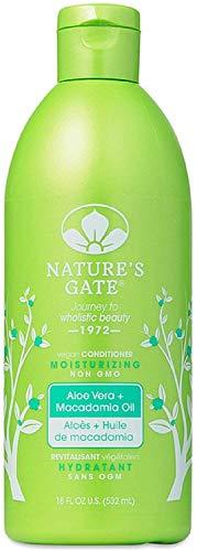 Nature's Gate Aloe Vera + Macadamia Oil Moisturizing Conditioner 18 oz (Pack of 5) ()