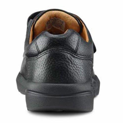 Dr. Confort William-x Mens Thérapeutique Noir De Chaussure Diabétique De Profondeur Supplémentaire