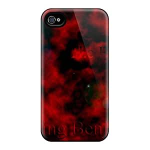 AlissaDubois Iphone 4/4s Perfect Hard Phone Covers Custom Colorful Breaking Benjamin Pattern [qAb11031mzdy]