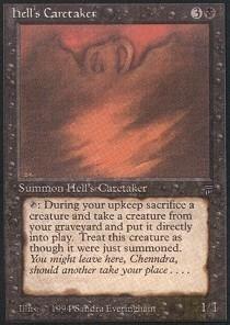 Magic: the Gathering - Hell's Caretaker - Legends