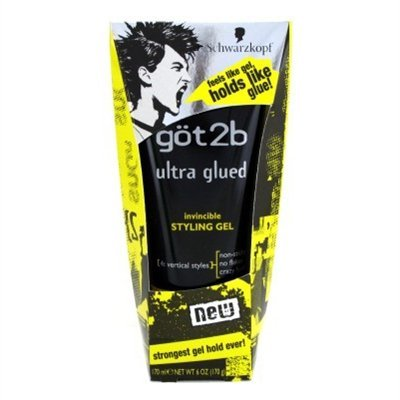 got2b Ultra Glued Invincible Styling Gel, 170 Milliliter (1986310) 33149