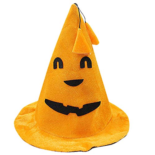 Witch Hat Halloween Children's Party Magic Wizard Hat Cosplay Photo Prop Cap