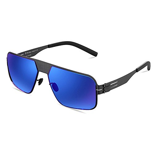 Womens Sunglasses, Modern Fashion ladies Lightweight sunglasses UV Protection Eyeglasses Super Light Comfortable for Outdoor-blue