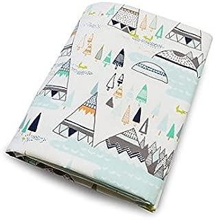 product image for Olli & Lime Teepee Crib Sheet