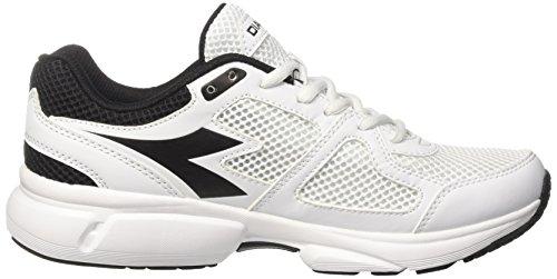 Elfenbein Shape Bianco Laufschuhe 8 Diadora Herren Nero O4n8qOPx