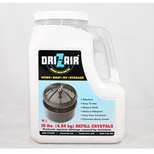 DRI-Z-AIR 10LB REFILL JUG for this list of winter rv camping tips