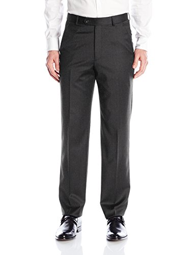 - Palm Beach Men's Cole Suit Seperate Pant, Charcoal Grey, 36W Regular