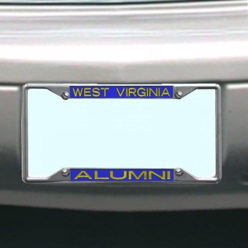 Virginia Mountaineers License Plate Alumni