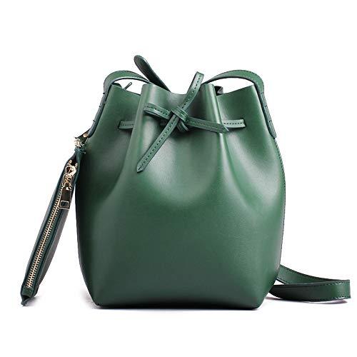 Grande À Bandoulière En Pour Cuir Femme Main La Mode Capacité Green Sac xzdEqfYwz