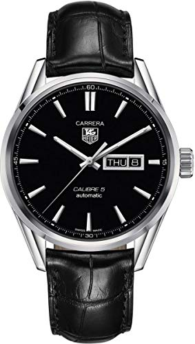 (TAG Heuer Men's WAR201A.FC6266 Analog Display Automatic Self Wind Black Watch)