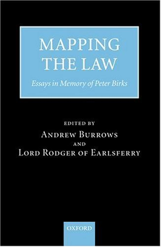 Mapping the Law: Essays in Memory of Peter Birks