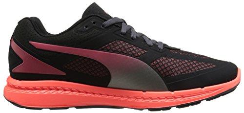 Puma Ignite malla de las zapatillas de running Black/Cayenne