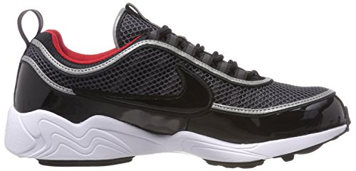Nike Men's Air Zoom Spiridon '16 Gymnastics Shoes, Colour: Iron Green Black Hyper Crimson Black (Black/Black/University Red/White 006)
