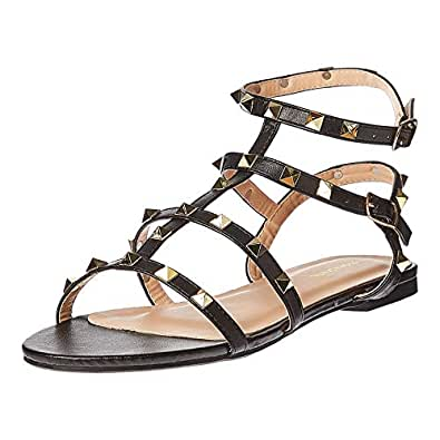 Shoexpress Gladiator Sandals for Women - Black