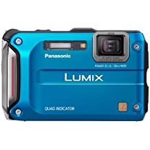 Panasonic Lumix TS4 12.1 TOUGH Waterproof Digital  Camera with 4.6x Optical Zoom (Blue)