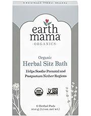 Earth Mama Organic Herbal Sitz Bath, 6-Count
