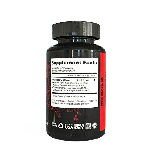 Nitric Oxide Supplement | by Deus Vita | NO Booster Pills | Increase Blood Flow | Bigger Pumps High Quality | Breakthrough Formula L Arginine Blend | Top Results (Bottle, 90 Count) | Best Value