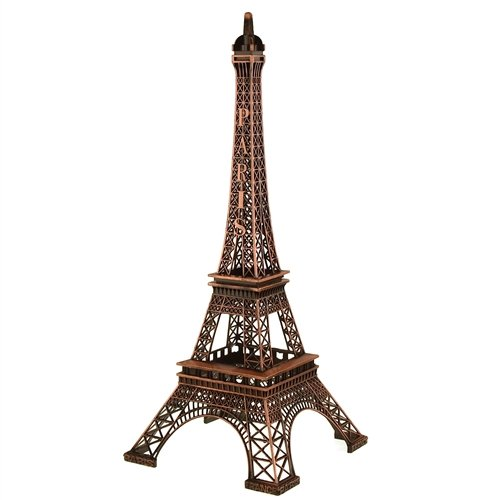 Homeford FNS007006BRN Tall Metal Eiffel Tower Paris France, 20