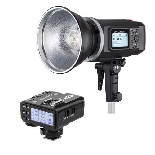 Flashpoint lashpoint XPLOR 600 HSS TTL Battery-Powered Monolight with Built-in R2 2.4GHz Radio Remote System - Bowens Mount (AD600 TTL) R2 Mark II ETTL 2.4 GHz Wireless Flash Trigger for Nikon by Flashpoint