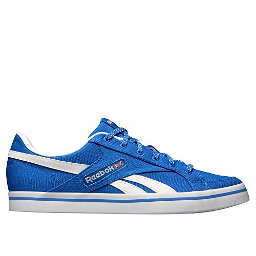 Reebok Lc Court Vulc Low, Zapatillas de Deporte Para Hombre Azul / Blanco (Blue Sport / White)