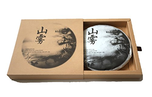 2010 Organic Raw Pu Erh Tea from Yunnan, fairly traded, natural flavor, AAAAA grade, traditional cake 357g