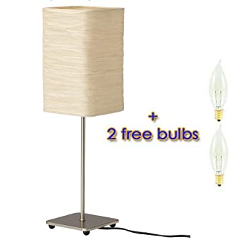 Ikea Magnarp Table Lamp With 2 Free Bulbs