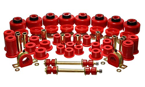 Energy Suspension 3.18129R HYPER-FLEX SYSTEM Complete Master Bushing Set ()