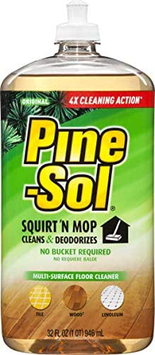 Multi-Surface Cleaner: Pine-Sol Squirt N' Mop
