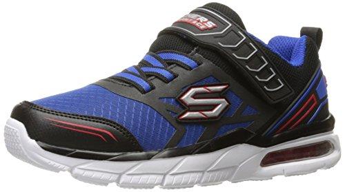 Skechers Kids Boys Air Advantage-Nova Drift Sneaker, Blue/Black, 13.5 M US Little Kid