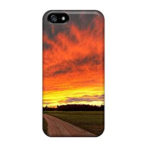 Faddish Phone Field Skies Case For Iphone 5/5s / Perfect Case Cover
