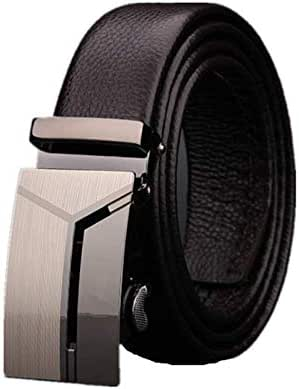 Brown Leather Belt For Unisex