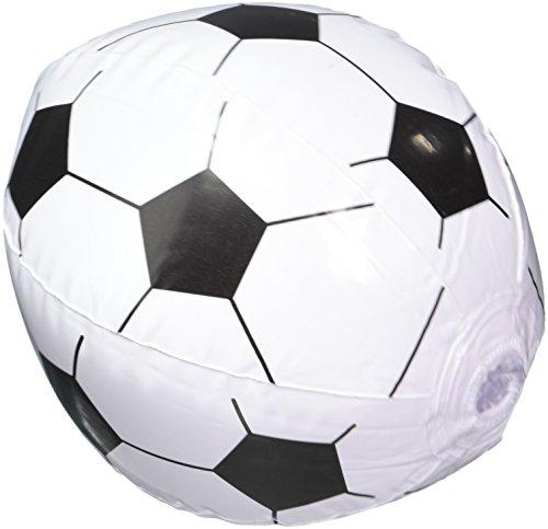 Soccer Beach Balls Inflatable Dozen