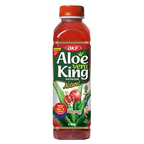 Aloe Vera King (Pomegranate Flavor) - 16.90fl Oz (Pack of 10) (Drink Vera Aloe Premium)