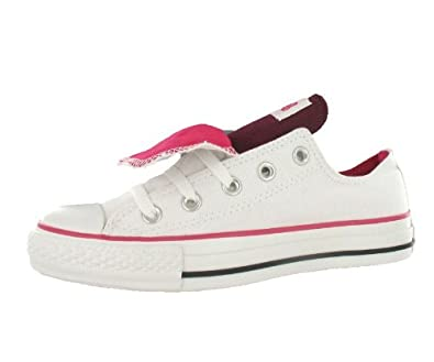 7bd5a320c22d38 Image Unavailable. Image not available for. Color  Converse Men s All Star  Chuck Taylor Double Tongue Ox ...